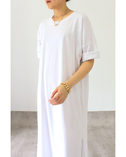 everyday dress white
