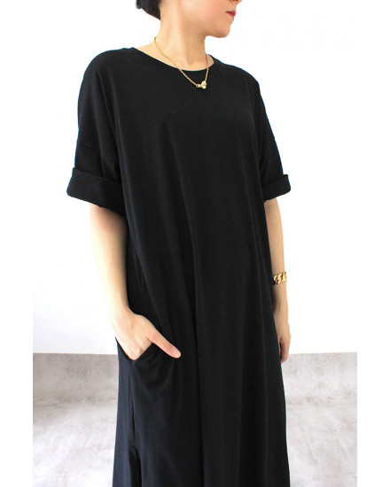 everyday dress black