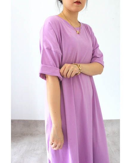 everyday dress purple