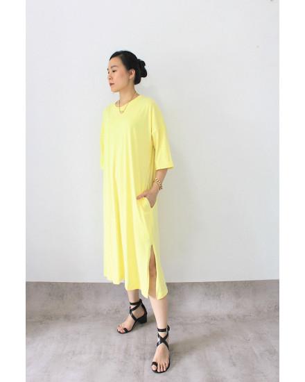 everyday dress lemon