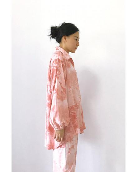 gobby long shirt peach