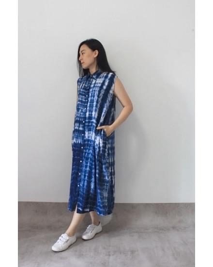 po tiedye madness dress (sleeveless)