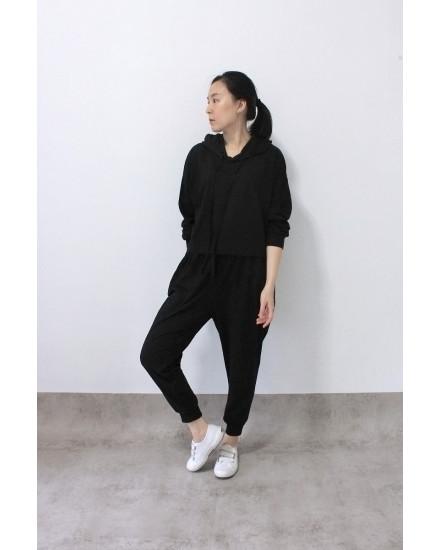 everyday hoodie black