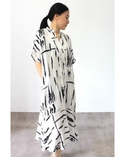 raina dress blackprint