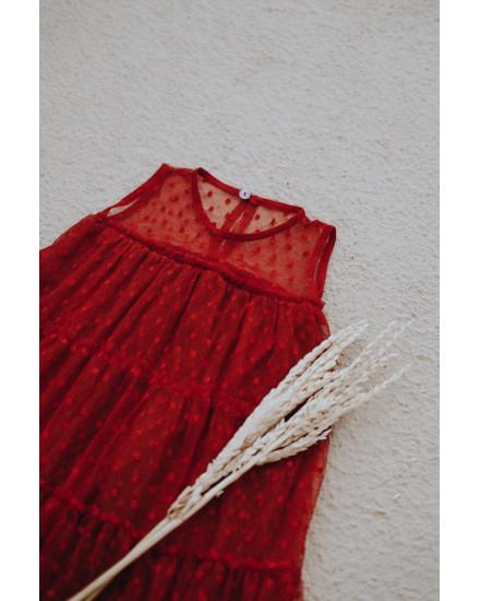 ELFA DRESS MAROON