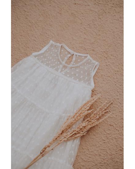 NOLA DRESS MAROON