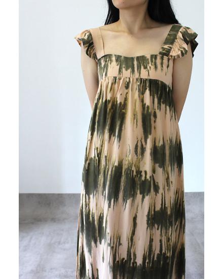 po tiedye madness dress maxi flair