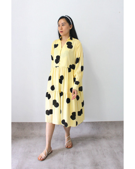Maliga Dress Yellow