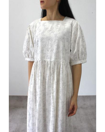 Winona Dress White