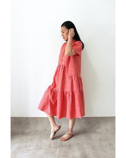 Rui Dress Red