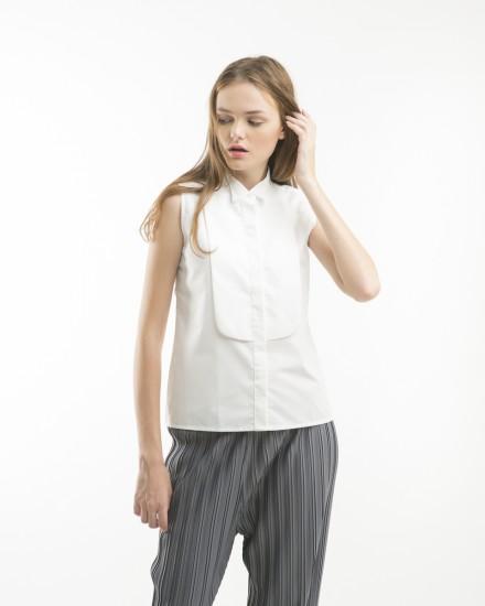 tuxedo shirt white