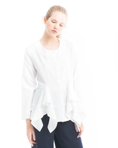 lindsay shirt white