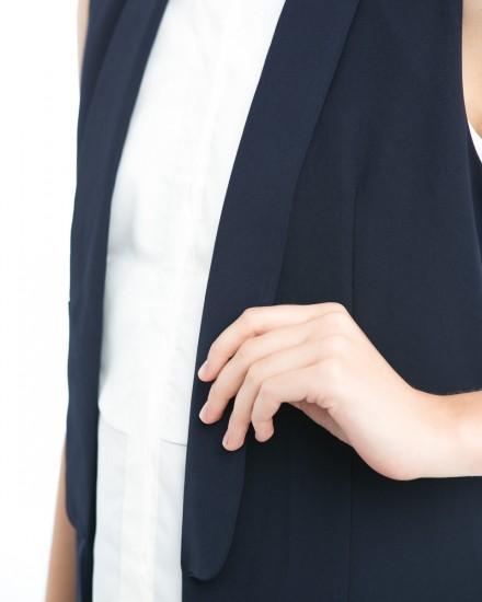 tuxedo vest navy