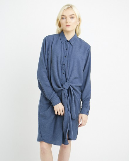 layla dress dark blue