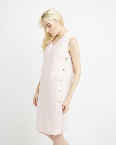 letta dress in pink