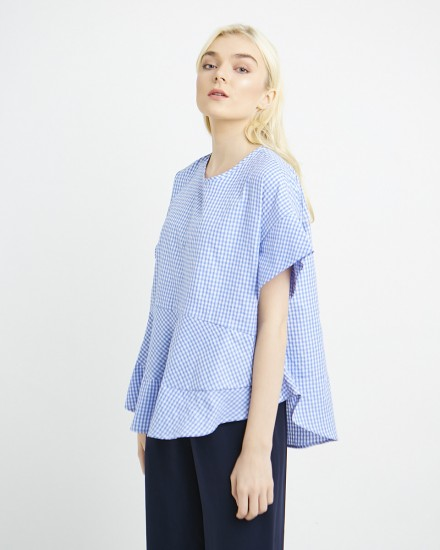 daria top gingham
