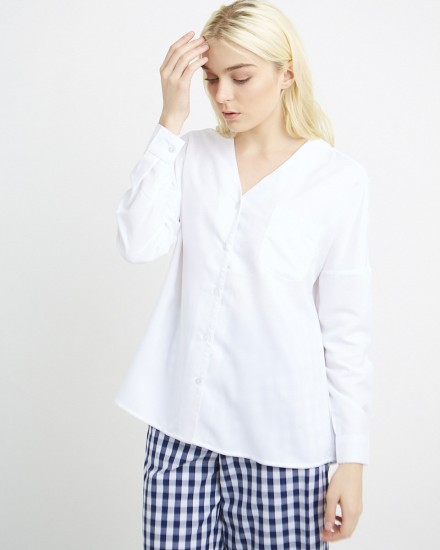 leegan top in white