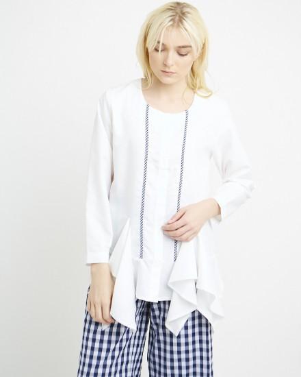 lindsay shirt gingham