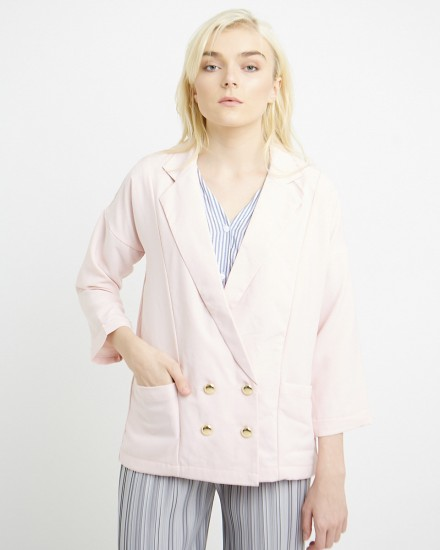 keiza outer in pink
