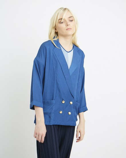 keiza outer in blue
