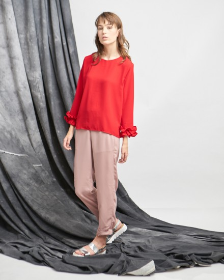 kelly top red