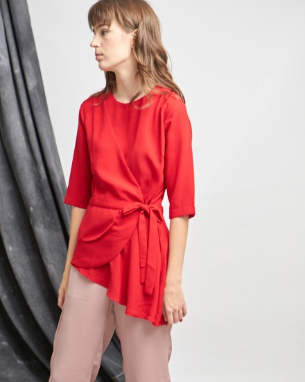 aranka top red