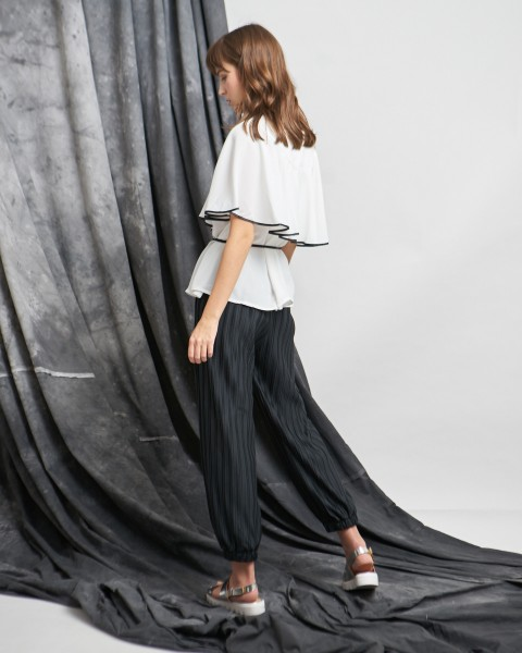 janet top white