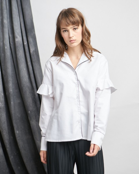 pijar shirt white