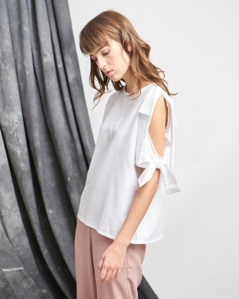 double bow top white