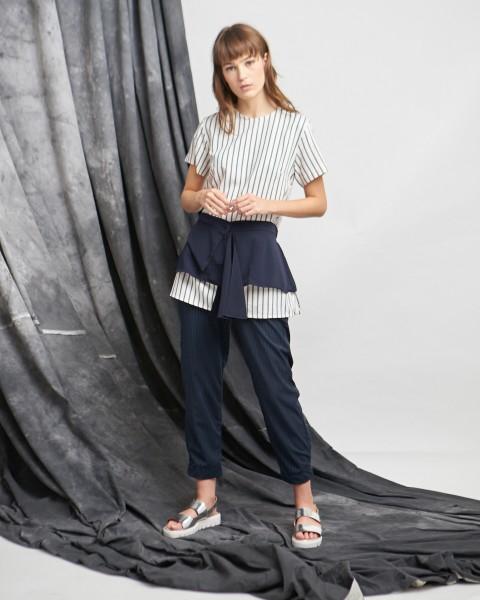 monda apron top stripes