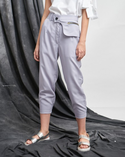 letto pants grey