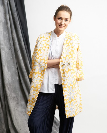 karlo lace outer yellow