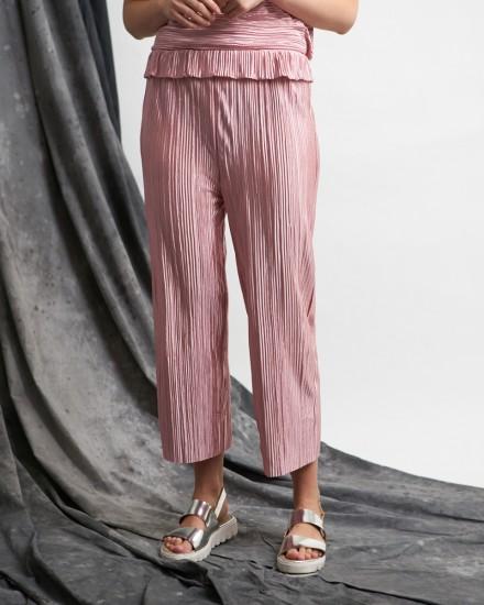nara pleats pants pink