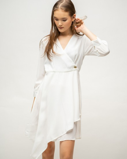 celia dress white