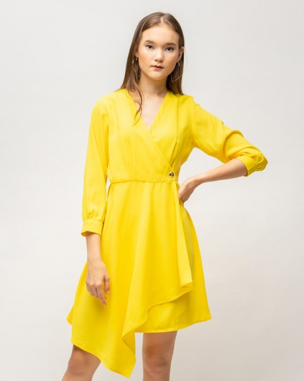 celia dress yellow