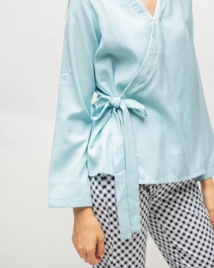 zila hanbok blue