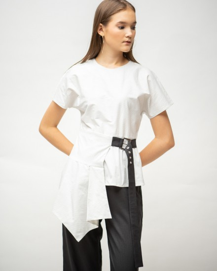 kelyn top white