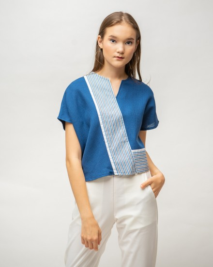 zetta top blue