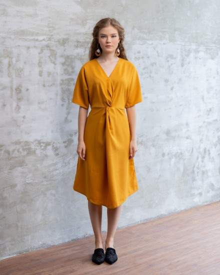 JADE DRESS CAMEL