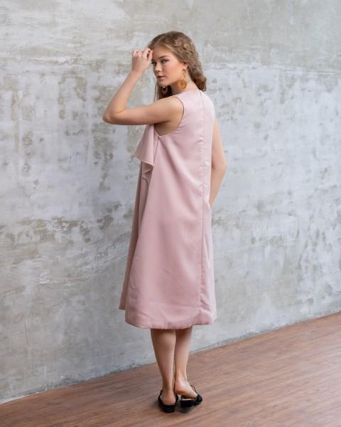 AZCA DRESS NUDE