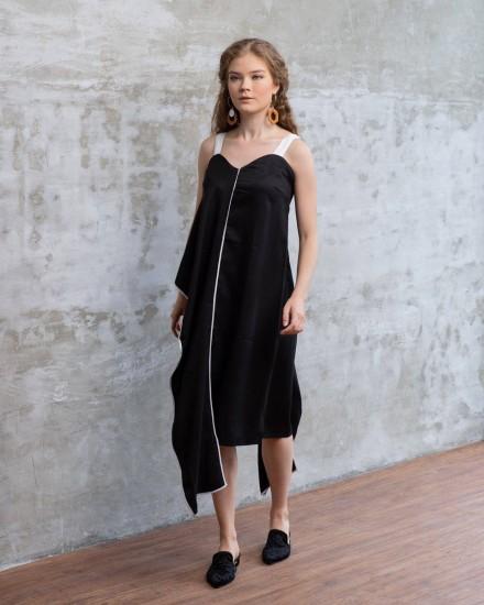 MINOSA DRESS BLACK