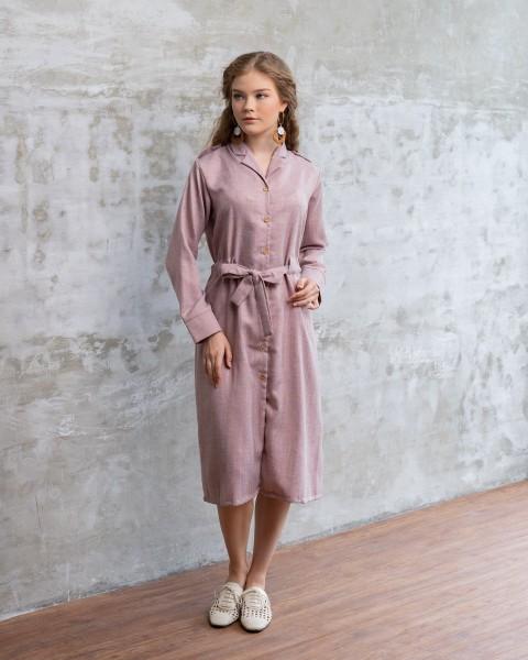 LARA SHIRT OUTER/DRESS BLUSH