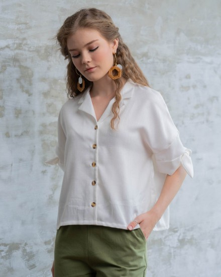 LEVA SHIRT WHITE