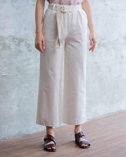 keena pants white