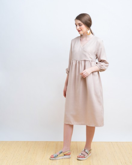 LURY DRESS PINK
