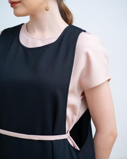 KARAMI DRESS BLACK