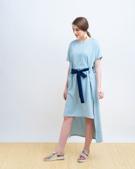 FARIDA DRESS BLUE