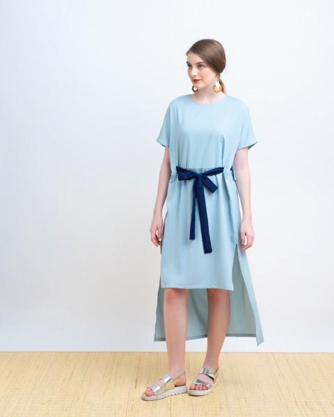 FARIDA DRESS BLUE