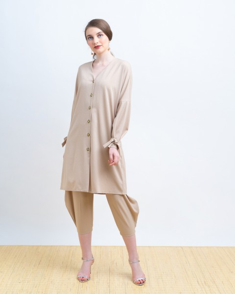 MAXINA OUTER DRESS KHAKIS