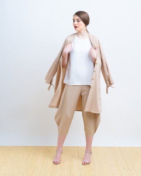 MAXINA OUTER DRESS KHAKIS
